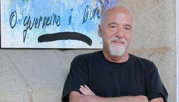 Foto del escritor brasileño Paulo Coelho