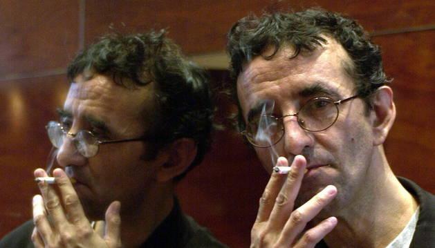 Foto del escritor Roberto Bolaño.