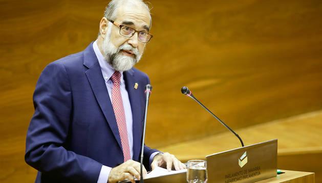 Fernando Domínguez, consejero de Salud del Gobierno de Navarra.