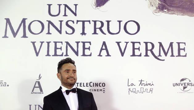 Imagen del director de cine Juan Antonio Bayona en el estreno en Madrid de su nueva película.