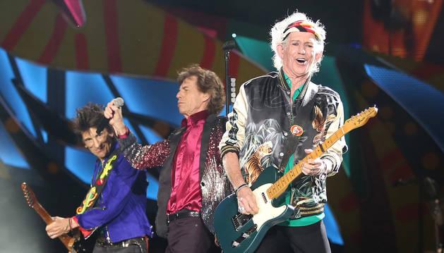 Imagen de los Rolling Stones.