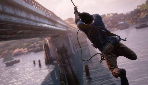 Una escena de 'Uncharted 4: el desenlace del ladrón'.