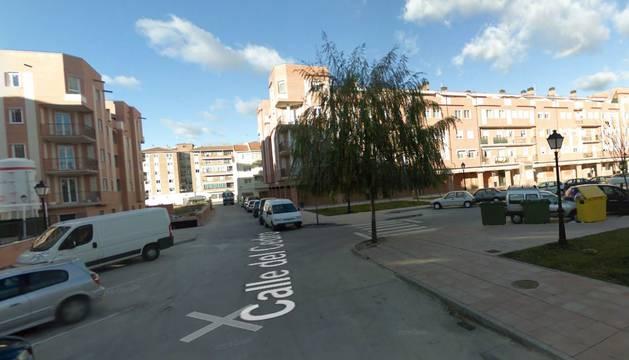 Calle Cedro de Arévalo (Ávila).