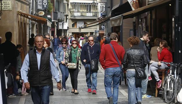 Imágenes del Casco Viejo de Pamplona