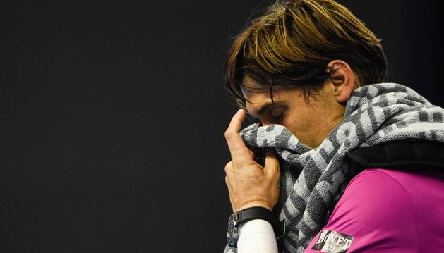 David Ferrer abandona la pista de Pekín tras caer derrotado por Andy Murray