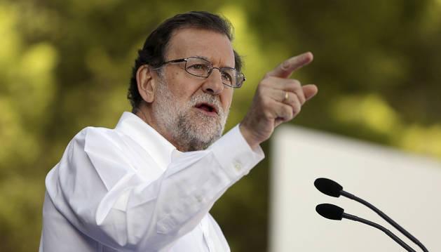 Foto del jefe del Ejecutivo en funciones, Mariano Rajoy.