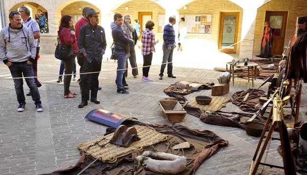 Feria de artesanía y mercado medieval de Marcilla