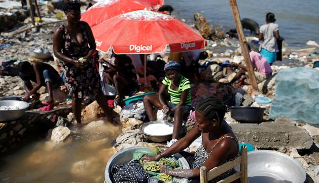 Fotos de la destrucción del huracán Matthew en Haití