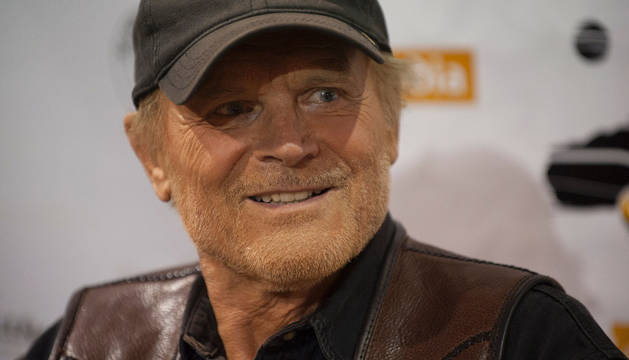 El director italiano Terence Hill.