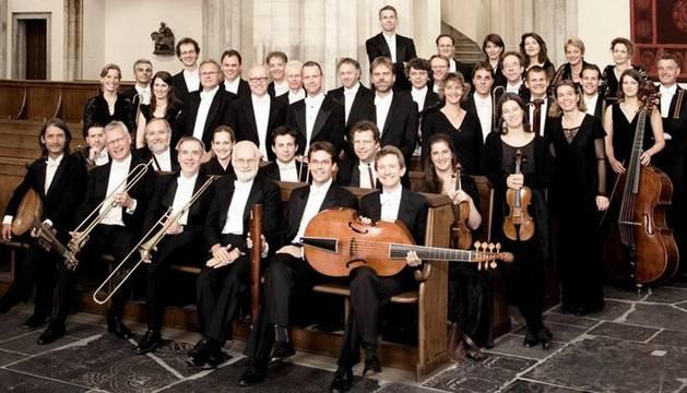 Foto de la Orquesta de Amsterdam que actúa este martes en el Gayarre