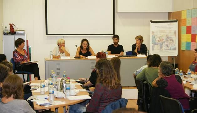 Foto del foro sobre sexualidad en Navarra