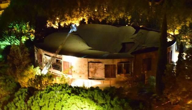 Se derrumba la cúpula y el techo de una iglesia de Toledo sin causar daños