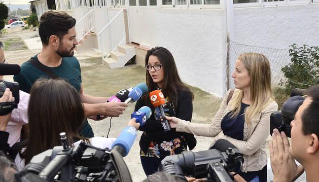 Melisa Suero, la hermana de la niña que la pasada semana recibió una paliza de otros menores del colegio público de Son Roca de Palma.