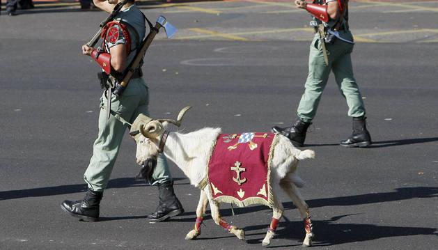 'Pepe', la cabra de la Legión.