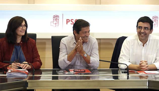 Ascensión Godoy, Javier Fernández y Mario Jiménez.