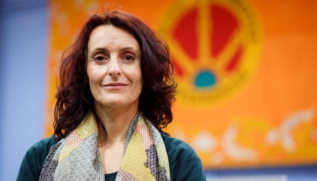 Foto de Mª Antonia Aretio, defensora de la tesis