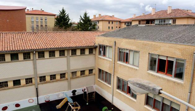 El colegio de Beriáin, uno de los que recibirá la subvención.