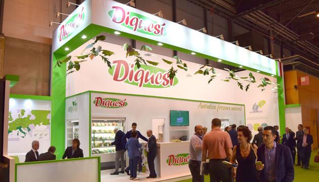 foto del stand de Diquesí en la feria Fruit Attraction