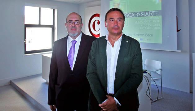 Imagen de la presentación de la iniciativa Escapararte.