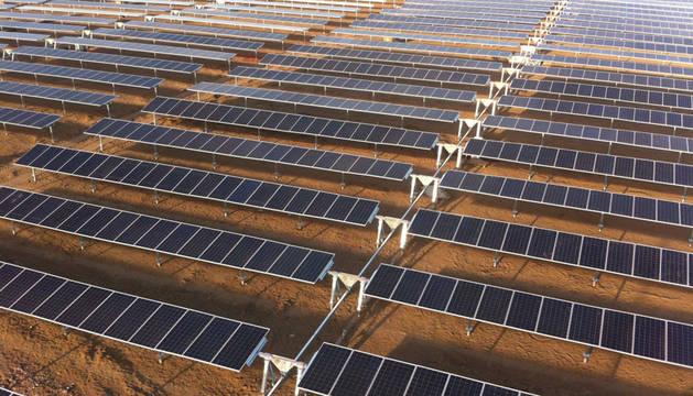 foto de planta fotovoltaica del grupo OPDE en México