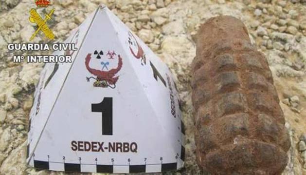 Imagen de la granada.