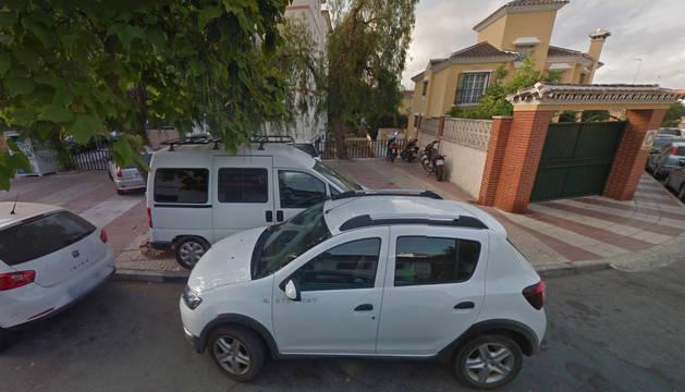 La calle Conde de Casal, donde ocurrió el accidente.