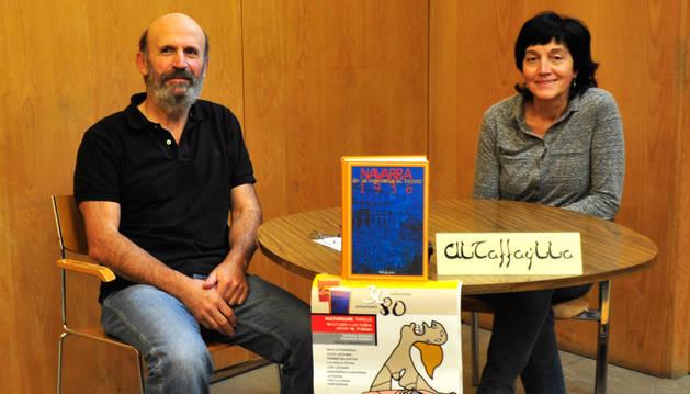 Carlos Otxoa, de la coordinadora de pueblos por la Memoria Amapola del Camino; y Mª José Ruiz, de Altafaylla, presentaron el acto.