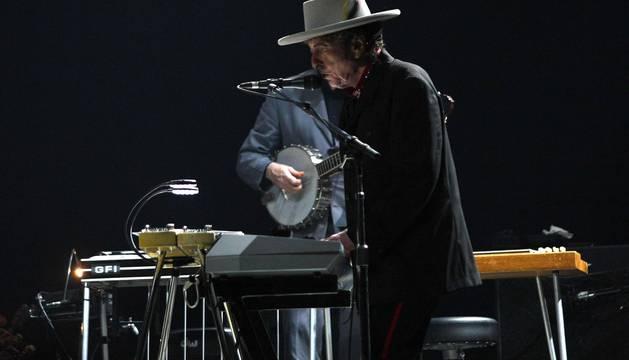Concierto de Bob Dylan en Anaitasuna en el año 2008