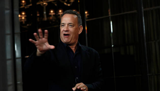 Tom Hanks protagoniza 'Inferno'.