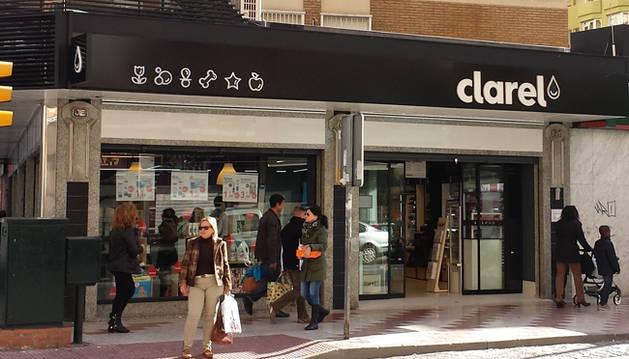 Imagen de una tienda Clarel.