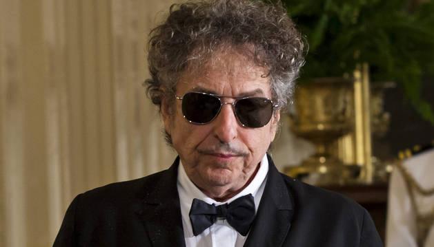 El cantautor estadounidense Bod Dylan.