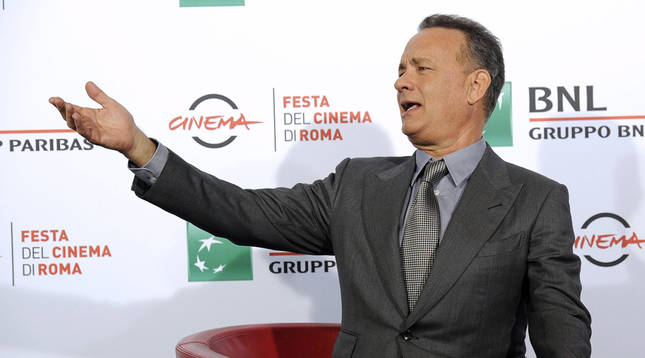 El actor estadounidense Tom Hanks.