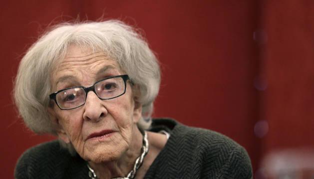 La poeta uruguaya Ida Vitale.