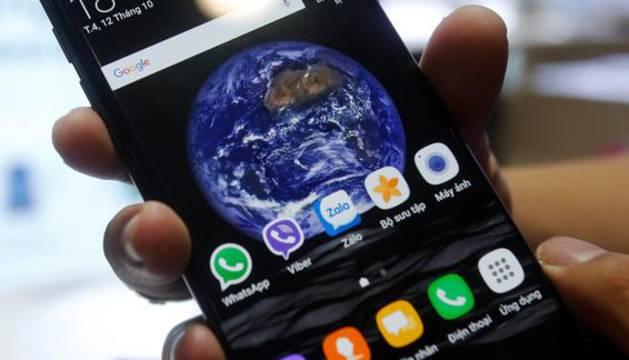 Imagen de un Galaxy Note 7.