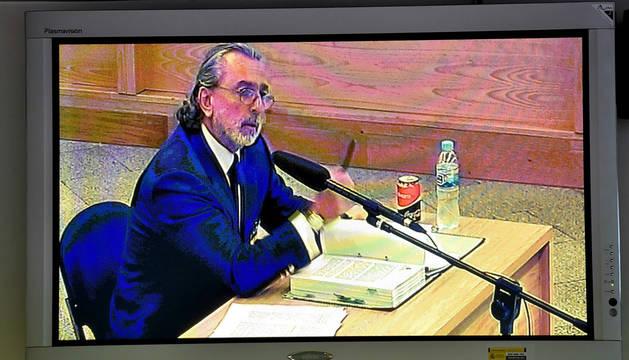 Foto de Correa captada desde la señal institucional