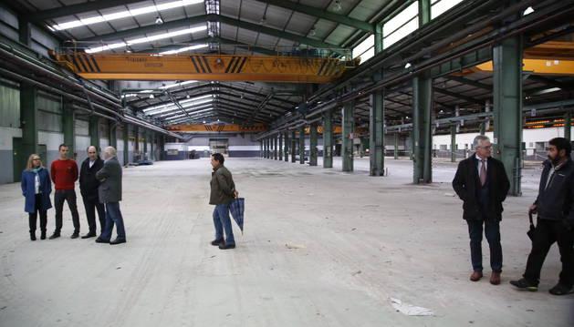 7,8 millones para transformar la antigua fábrica de INASA en un polígono industrial