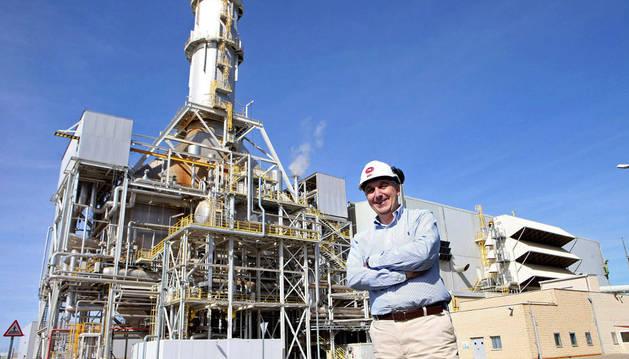 Juan Miguel Herranz, director de las dos plantas de ciclo combinado que EDP tiene en Castejón.