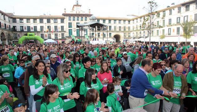La cita recaudó unos  16.000 euros para los proyectos de la AECC de apoyo a los afectados, prevención e investigación