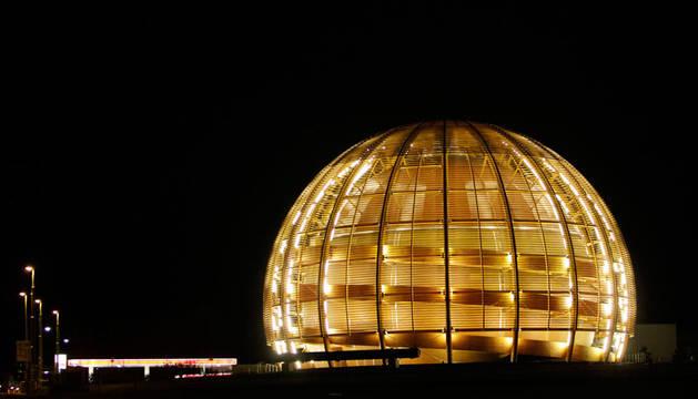 Sede en Ginebra del Centro Europeo de Investigación Nuclear.
