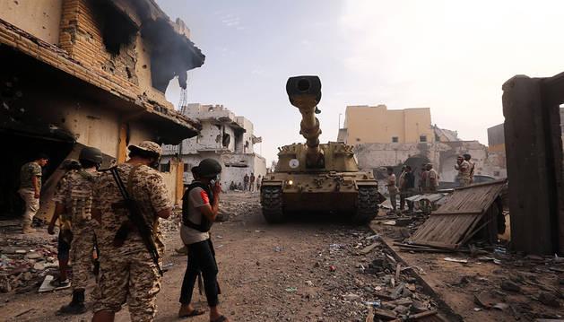 Golpe de Estado en Libia capitaneado por un exprimer ministro
