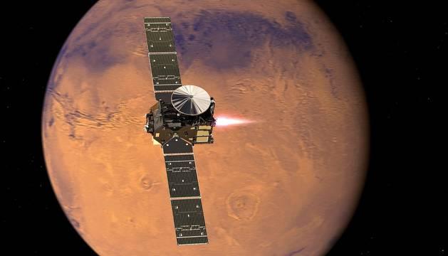 Imagen de la misión ExoMars.