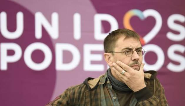 El cofundador de Podemos Juan Carlos Monedero.