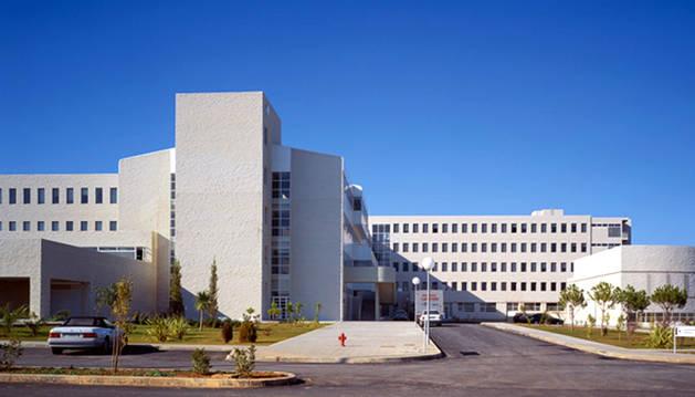 Imagen del hospital Juan Ramón Jiménez de Huelva.