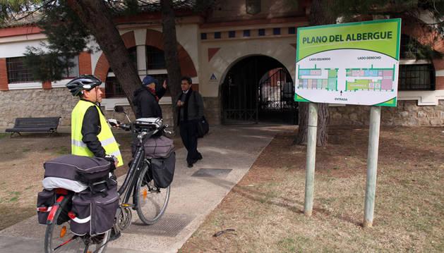 Imagen del Albergue Municipal de Juventud de Tudela, en el número 17 de la calle Camino Caritat.