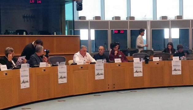 Intervención de Joseba Asiron en una de las jornadas 'Solidacities'.