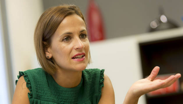 Maria Chivite.