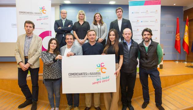 Foto de la presentación de Comerciantes de Navarra