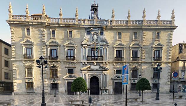 Sede de la Audiencia de Granada.