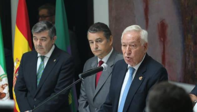 El ministro de Asuntos Exteriores y de Cooperación en funciones, José Manuel García-Margallo.
