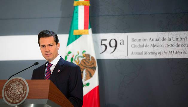 Peña Nieto, presidente de México, condenó el asesinato del juez Vicente Antonio Bermúdez Zacarías.